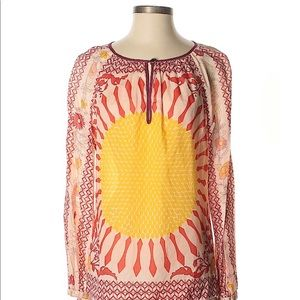 Tory Burch •Sunflower blouse•